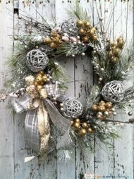 Attractive and creative Christmas wreaths for your front door | Creative ideas | Scoop.it