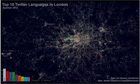 Top 10 Twitter languages in London visualised | Language News @ Oxford | Scoop.it
