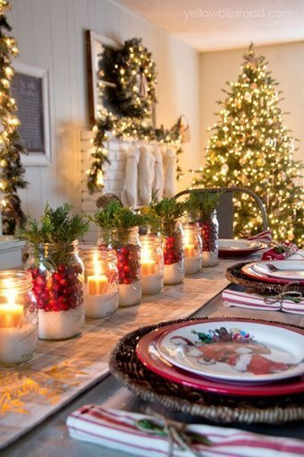 Impressive and Beautiful Christmas Table Settings & Centerpieces Idea | Wedding Catering | Scoop.it