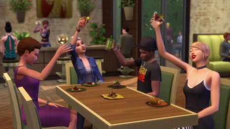 The Sims 4 Dine Out: Twitter Tidbits by Gurus << SimsVIP | Les Sims | Scoop.it