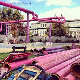 J'ai décrypté le mystère des tuyaux roses de Berlin ~ Rainbow Berlin   Rainbow Berlin   Scoop.it