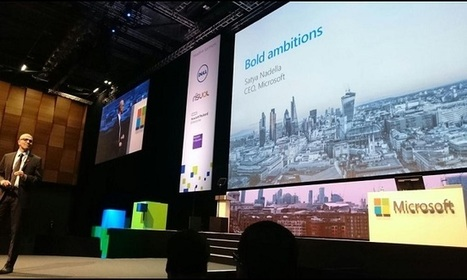 Microsoft's Nadella reaffirms 'mobile first' vision - Mobile World Live | Tech Trends and Industry | Scoop.it