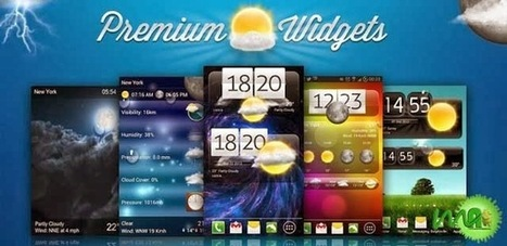 Premium Widgets & Weather 2.3.8 APK For Android ~ MU Android APK | My Favorites | Scoop.it