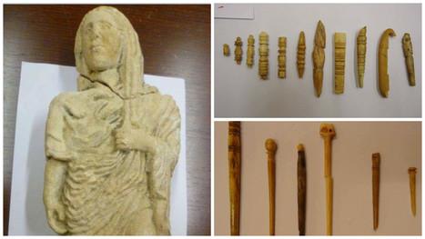 Egypt Repatriates 44 Stolen Archaeological Objects from France | Heritage in danger (illicit traffic, emergencies, restitutions)-Patrimoine en danger | Scoop.it