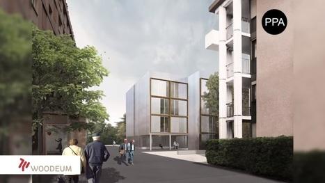 Construyen conjunto social de 50 viviendas de madera en 10 días | retail and design | Scoop.it