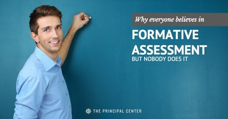 Why Everyone Believes In Formative Assessment, But Nobody Does It   School-based Professional Learning   Scoop.it