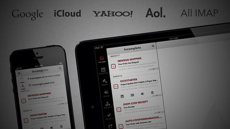 Mail Pilot Turns Your iPhone's Email Into An Organized To-Do List | Tools You Can Use | Scoop.it