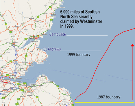 The North Sea off Scotland's East Coast up to Carnoustie has been stolen by Westminster when in 1999 they moved OUR marine boundaries | Scottish Independence and a better future! | Scoop.it
