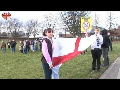 Rotherham Anti-Mosque Demonstration | The Indigenous Uprising of the British Isles | Scoop.it