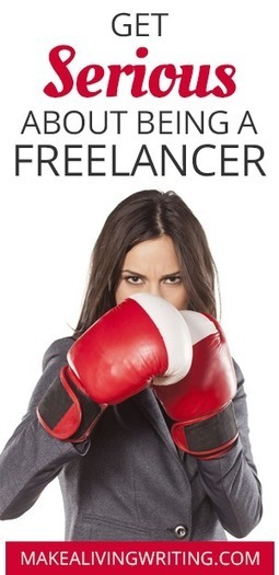 Toughen Up: 7 Ways to Get Serious About Full-Time Freelance Writing | Writing And  Self Publishing | Scoop.it