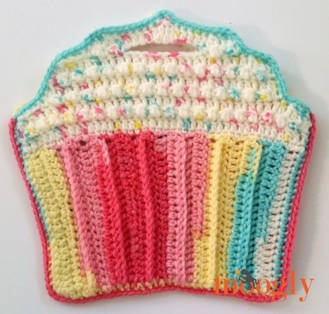 Cupcake Toddler Purse - moogly | Just Crochet | Scoop.it