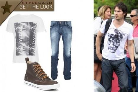 Men's Monday: Get The Look – Ian Somerhalder   StyleCard Fashion Portal   StyleCard Fashion   Scoop.it