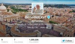 The Tweeting Pope has a lesson for your business | Internet Psychologist | Graham Jones | Global Leaders | Scoop.it