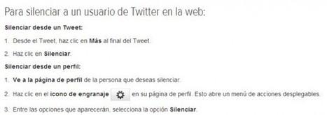 Ya es oficial: Twitter permitirá silenciar usuarios concretos en las próximas semanas | MediosSociales | Scoop.it