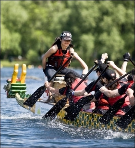 Test the waters with youth dragon boating - Courier Islander | Paddler News | Scoop.it