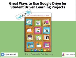 Great Ways to Use Google Drive to Power Student Project | Cool Tools for 21st Century Learners | Cool Tools for 21st Century Learners | Scoop.it