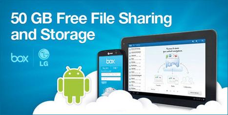 Cómo obtener los 50GB gratis de Box.net en cualquier equipo con Android | VIM | Scoop.it