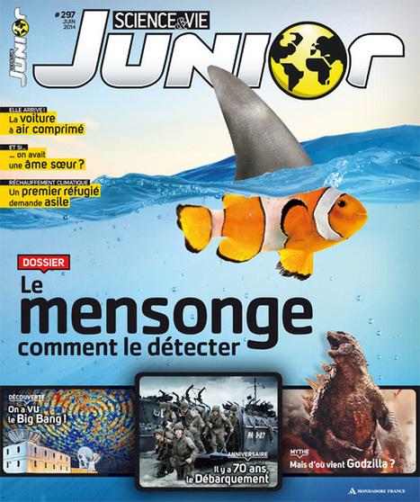 Science & Vie Junior n° 297 - Juin 2014 | Nouveautés du CDI | Scoop.it