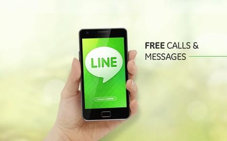 LINE, le nouveau réseau social et mobile qui dépassera Facebook | Stratégies digitales 2.0. | Scoop.it