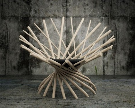 Modeling of the Nest chair | iTutorials | Scoop.it