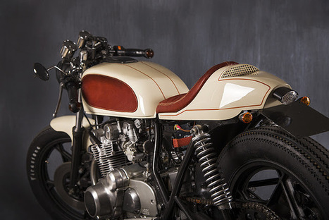 Suzuki GS550 Cafe Racer - Grease n Gasoline | Cash for Cars | Scoop.it