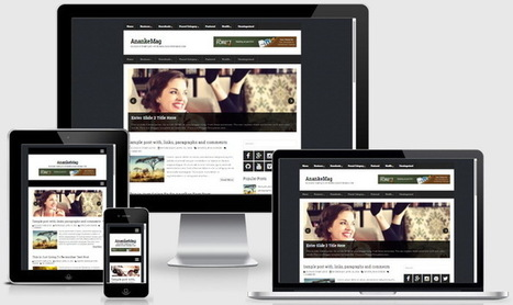 AnankeMag Blogger Template | Blogger themes | Scoop.it