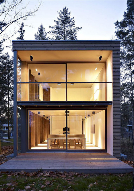 Sustainable Residence in Germany: The Minimum House | sustainable architecture | Scoop.it