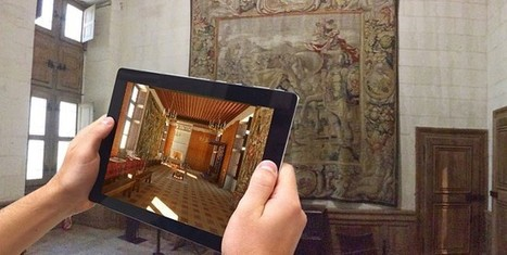 IL Y A 1 AN...Avec l'histopad, Chambord propose une visite immersive du château sous le règne de François 1er | Clic France | Scoop.it