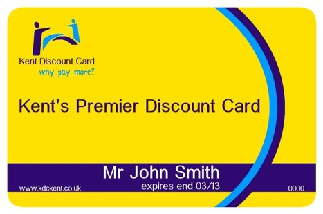 Join Kent Discount Card - The Kent Card with Privileges   Kent Shopping Discounts   Scoop.it