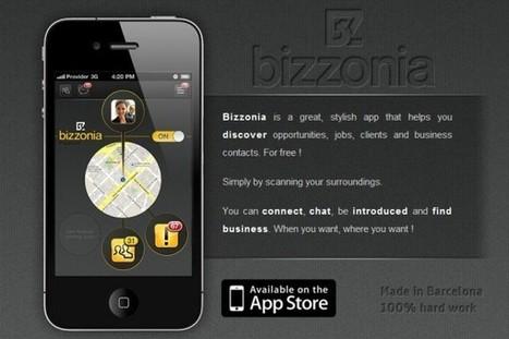 Bizzonia, una nueva forma de hacer contactos profesionales desde el móvil | VIM | Scoop.it