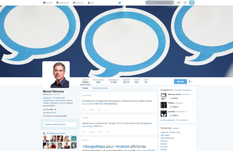 Twitter: ce que vous devez savoir avant que les nouveaux profils ne soient activés | Les réseaux sociaux : je surveille, tu surveilles... | Scoop.it