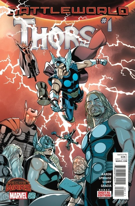 Marvel Comics Has Turned Thor Into The Wire And It's Awesome - Kotaku | Comic Book Trends | Scoop.it