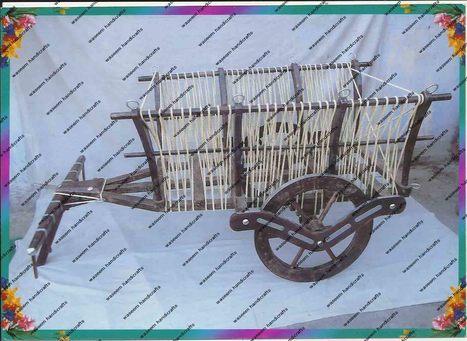 Wooden Cart | Wooden Home Decoration | Scoop.it