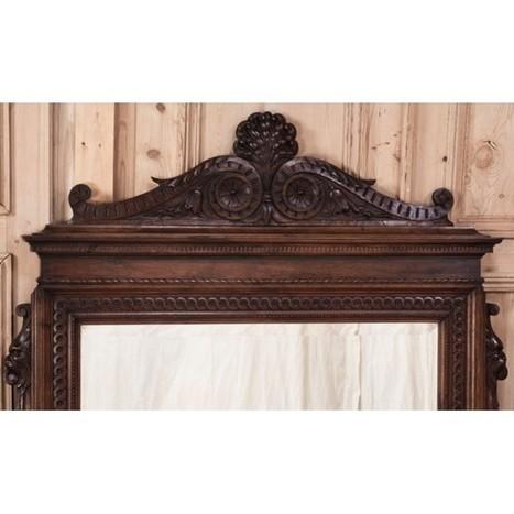 Antique Italian Neo-Classical Mirror - Inessa Stewart's Antiques | Inessa Stewarts Antique Furniture Store | Scoop.it