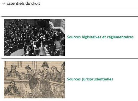 Une nouvelle page de présentation dans Gallica : les Essentiels du droit | Gallica | GenealoNet | Scoop.it