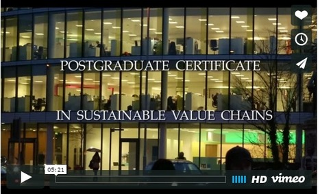 Sustainable Value & Supply Chains Master's-Level Course | Sustainable Procurement News | Scoop.it