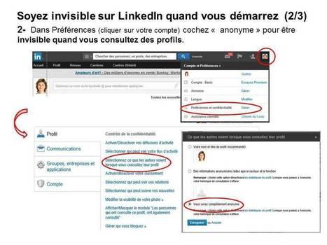 Comment maîtriser son identité numérique - LinkedIn - Mère et fille 2.0 | Relation client, Médias Sociaux, RH 2.0 et recrutement | Scoop.it
