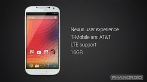 """Galaxy S4 """"Google Edition"""" will only be available in the US to start 