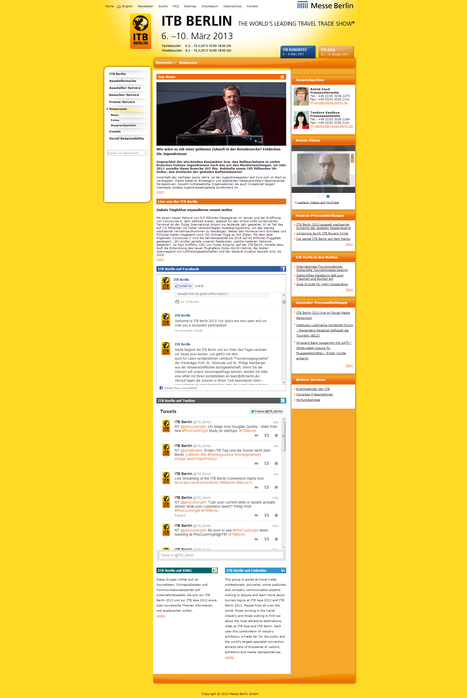 ITB Berlin - Newsroom | Social Media Newsrooms | Scoop.it