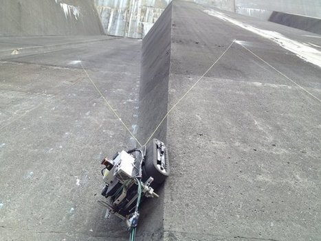 Crawler Bot Could Inspect Nuclear Power Stations - IEEE Spectrum | Robotic applications | Scoop.it