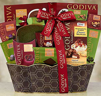 Godiva® Chocolate Gift Basket - Christmas Gifts | Christmas Gifts For Every Occasion | Scoop.it