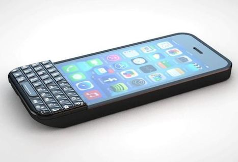 Ryan Seacrest funded Typo iPhone Keyboard coming in January for $99 | Creatively Awesome Tech | Scoop.it