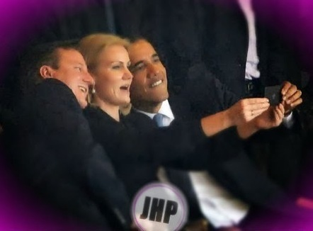Il selfie di Obama fa incazzare Michelle - JHP by Jimi Paradise ™ | GOSSIP, NEWS & SPORT! | Scoop.it