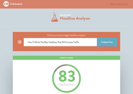 How To Write Headlines That Drive Traffic, Shares, and Search Results | Redaccion de contenidos, artículos seleccionados por Eva Sanagustin | Scoop.it