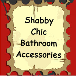 Shabby Chic Bathroom Accessories | Kims Five Things | Home and Garden | Scoop.it