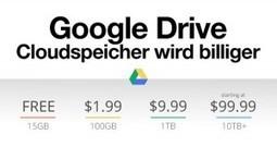 Google Drive: Günstiger Online Cloudspeicher wird billiger!   iPhone News   Scoop.it