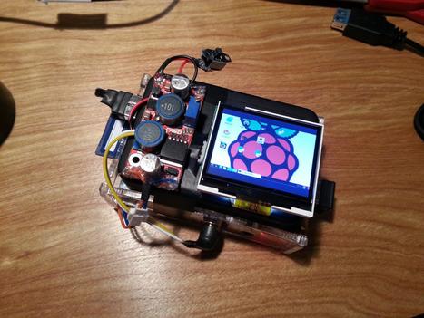 Raspberry Pi Point & Shoot Camera | MAKE | Raspberry Pi | Scoop.it