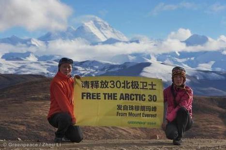 Free the Artic 30 | Epic pics | Scoop.it