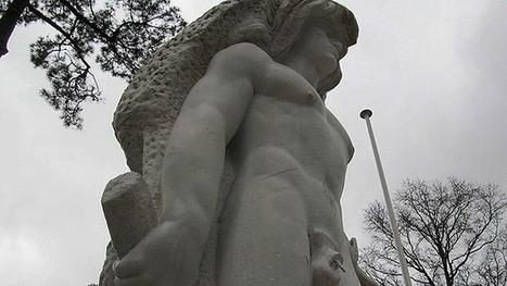 Una estatua francesa de Hércules se dota de un pene desmontable contra los vándalos | EURICLEA | Scoop.it