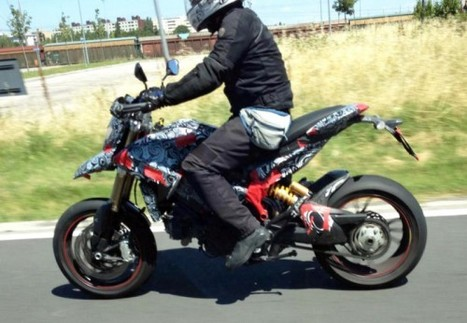 New Spy Photos of 2013 Ducati Hypermotard/Multistrada 848 |motorcycle.com | Ductalk Ducati News | Scoop.it